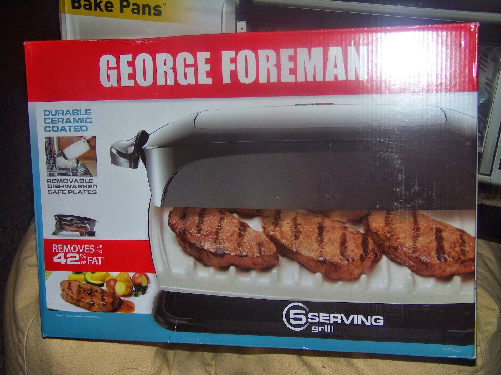 Back to School with George Foreman Grills- Healthier Meals