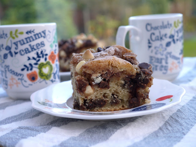 Sour Cream + Yoghurt Triple Chocolate Coffee Cake.