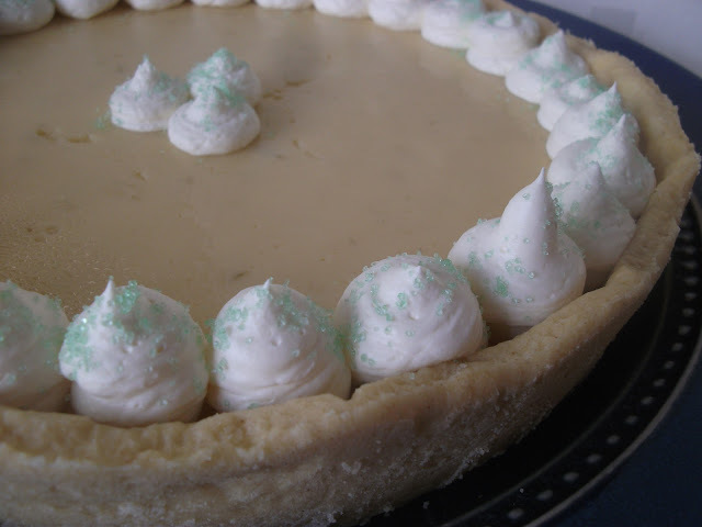 key lime pie shortcrust pastry
