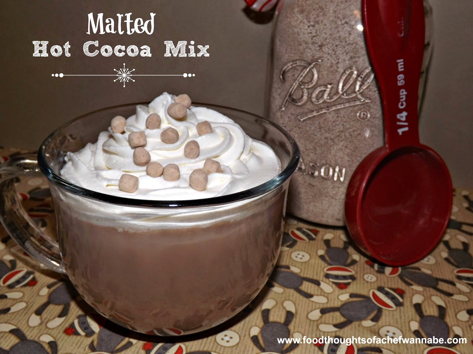 Malted Hot Cocoa Mix