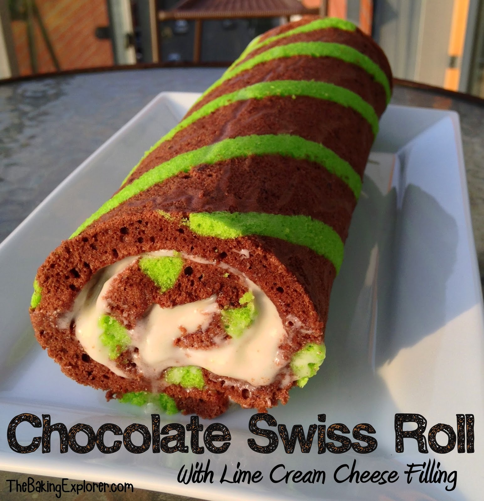 Chocolate & Lime Swiss Roll: GBBO Season Five Begins!