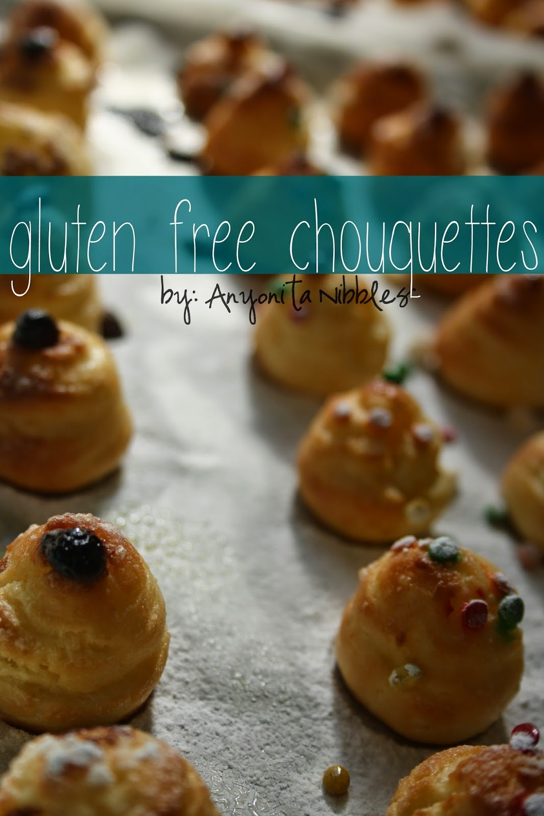 Gluten Free Chouquettes Three Ways