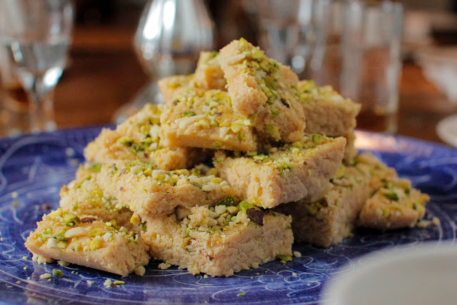 Almond Pistachio Fudge. Another Gluten Free Dessert, Plus a Giveaway
