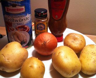 Ricette di wurstel e patate alla tedesca mytaste for Cucinare weisswurst