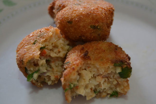 Nuggets de palitos de mar y atún