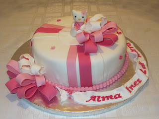 Hello Kitty bursdagskake