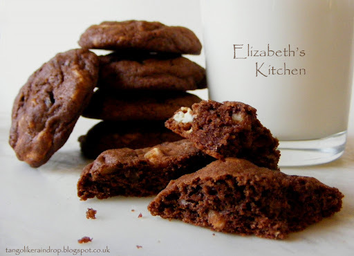Triple Death by Chocolate Cherry Cookies