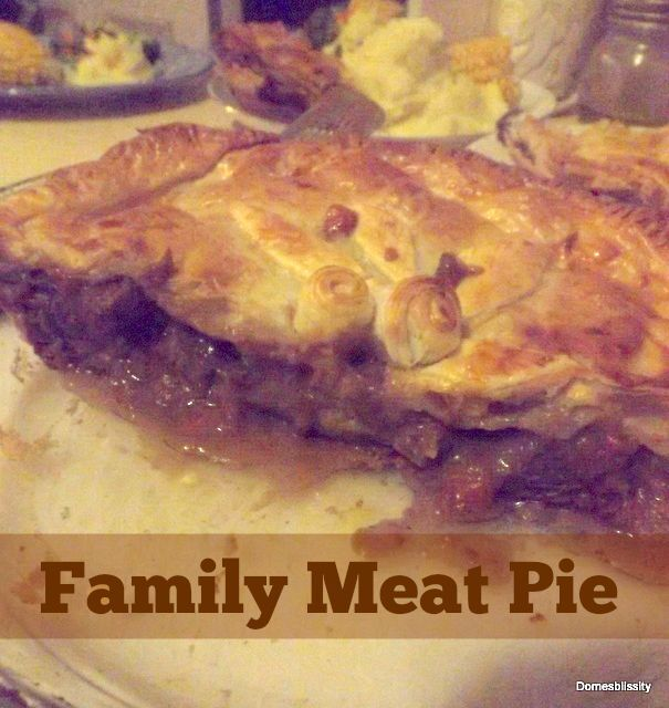 Family Meat Pie + Giveaway