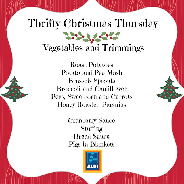 Thrifty Christmas Thursday - Vegetables and Trimmings