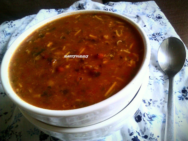 Missal Pav / Mixed Sprouted Pulses Curry