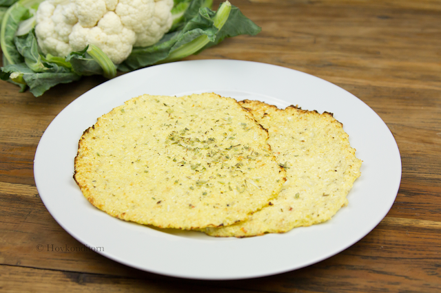 Cauliflower Cheese Tortilla