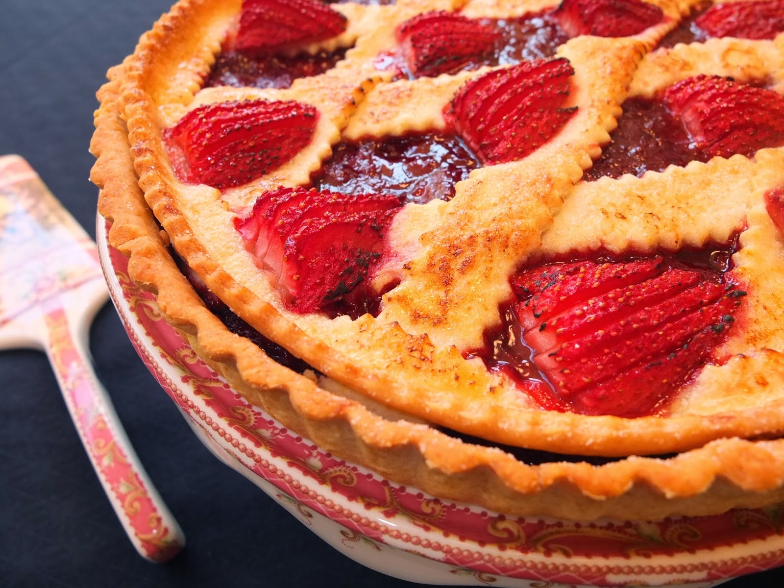 Crostata de fresones