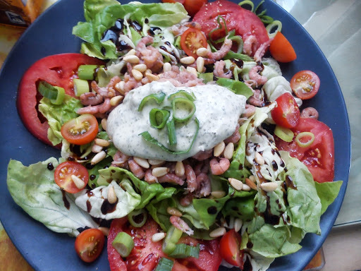 Tomaat garnaal salade à la Naessens Pascale