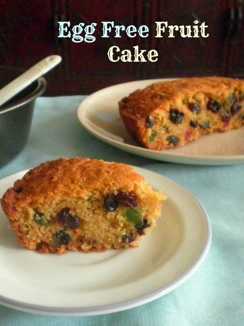 EGG FREE FRUIT CAKE