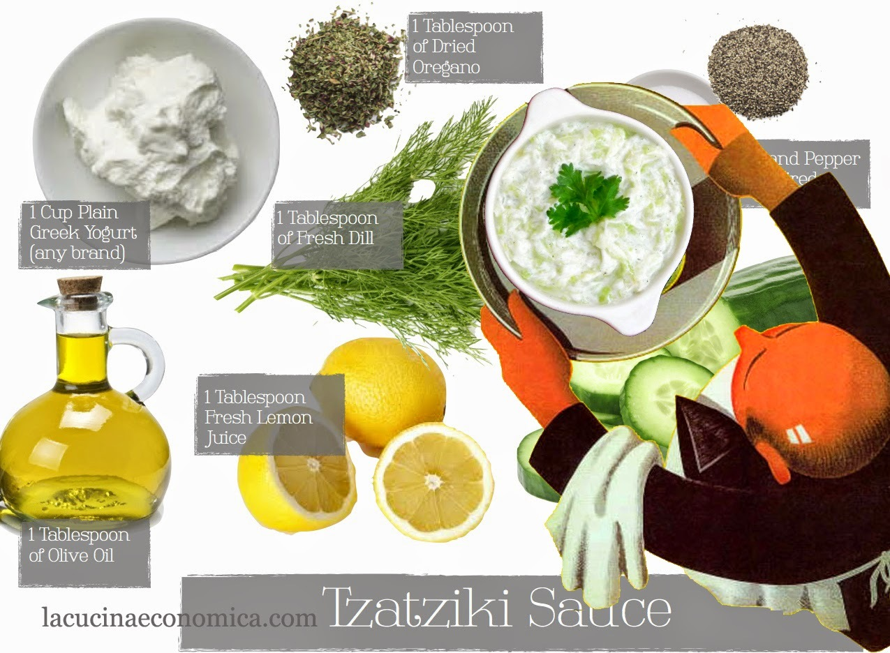 Come fare lo Tzatziki