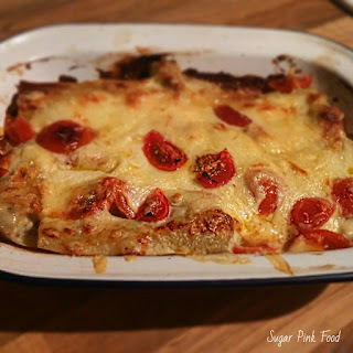 Slimming World Friendly Recipe - Cheesy Sausage Cannelloni