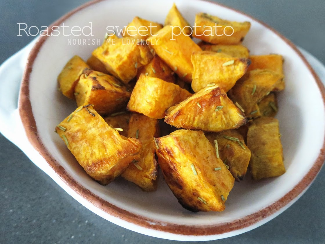 Easy sides - Sweet potato