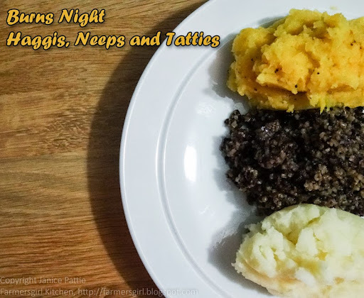To a Haggis - a new way with a traditional favourite 1/2
