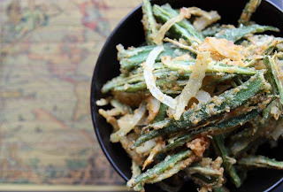 Crispy Okra Fries