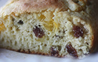 fruit scone loaf