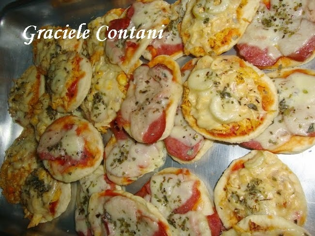 Mini-pizza, de Graciele Contani
