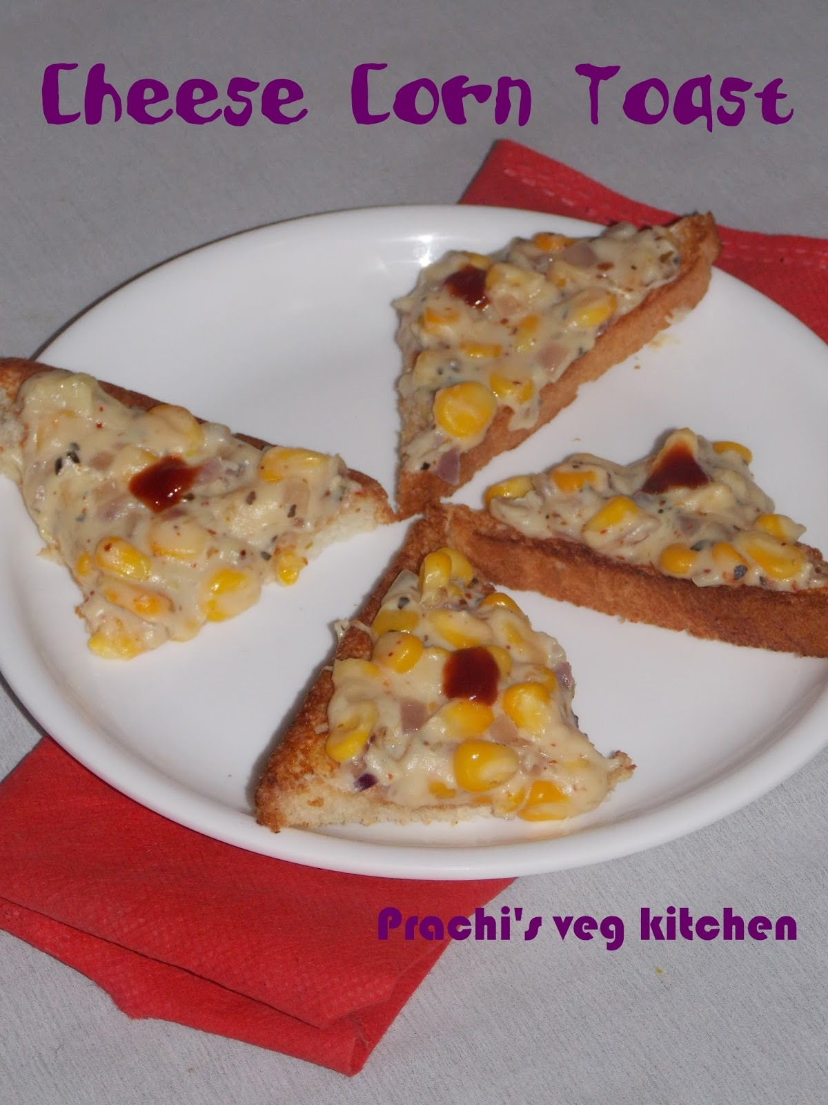 Cheese Corn Toast