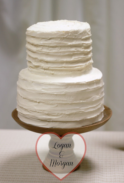 Morgan's Wedding Cake