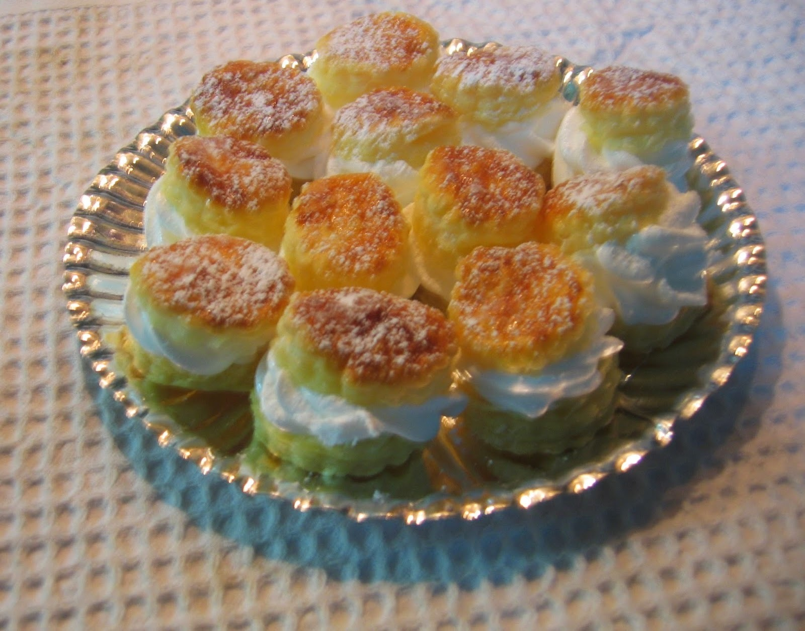 Pastelitos de merengue