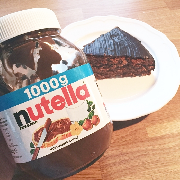 nutella glasur