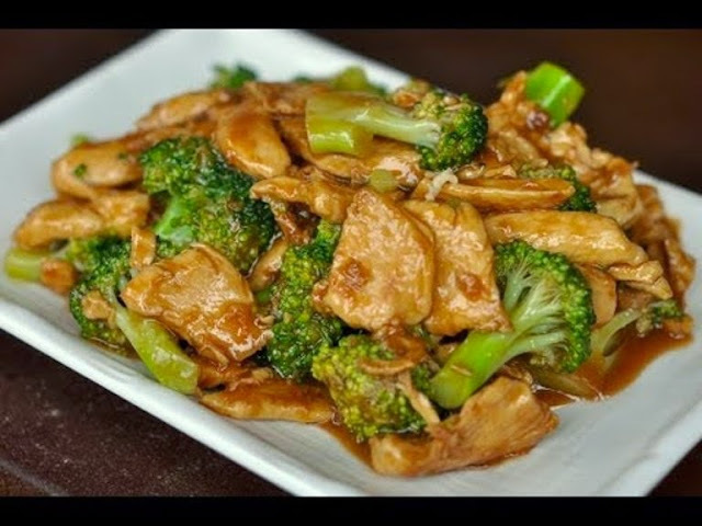 Wok Cooking Stir-fry Chicken with Broccoli Recipe #VideoRecipes