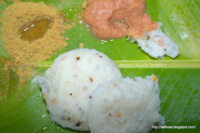 Sabudana idli(no dal) & Onion chutney - super fluffy, masala idlis and some Goldilocks adventure