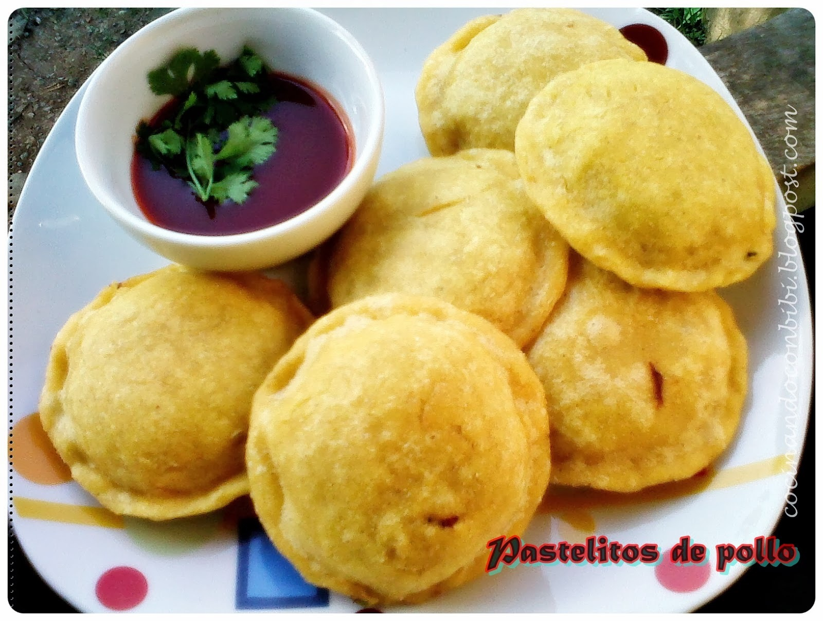 Pastelitos de pollo