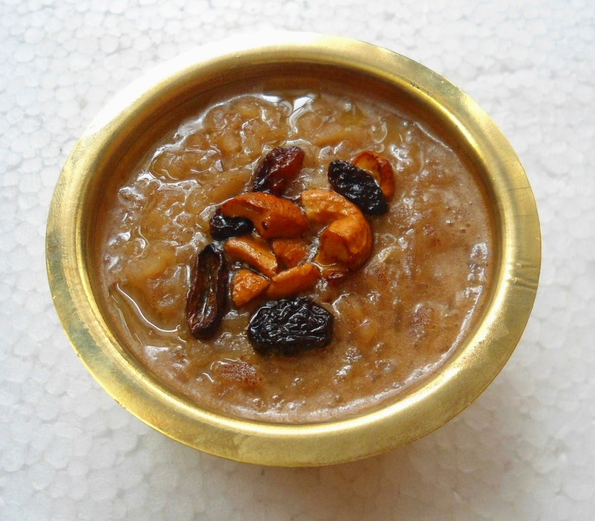 Red Rice Flakes Coconut Milk Pudding / Aval Payasam  With Jaggery | Payasam Recipe