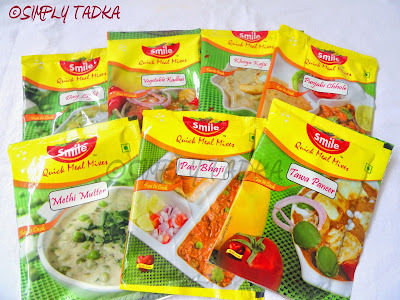 Review For Smile Quick Meal Mix- Methi Mutter