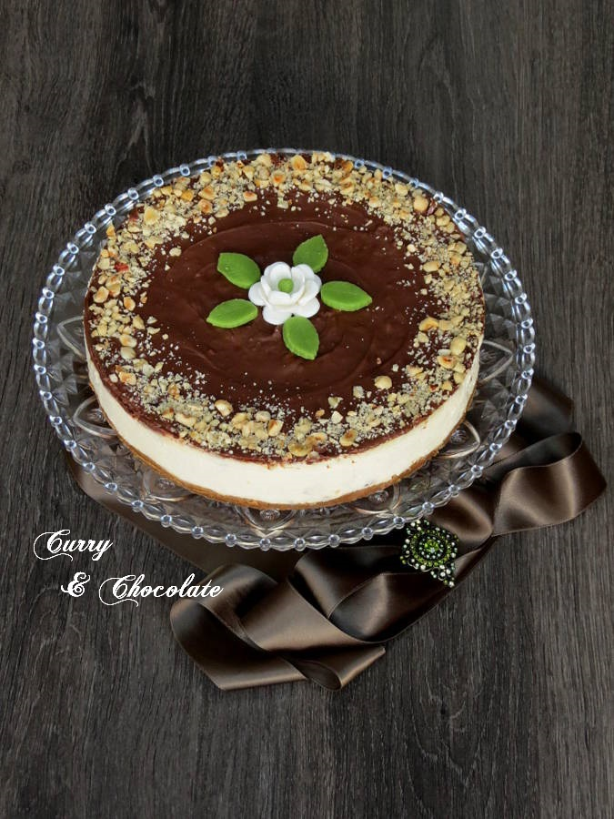 ferrero rocher cheesecake no bake