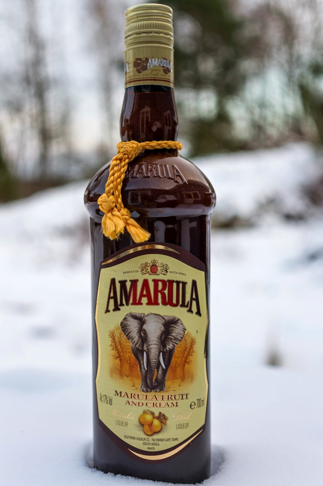 Amarula colada - en cocktail drink med Amaural Cream