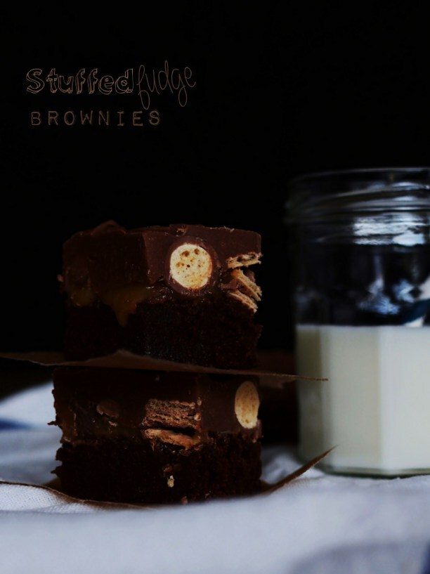 Stuffed Fudge Brownies