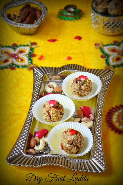 DRY FRUITS LADDU RECIPE / ANTINA UNDE / DINKACHE LADOO