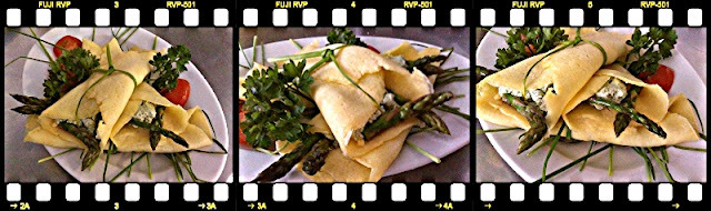 CREPES ASPARAGI E CAMEMBERT