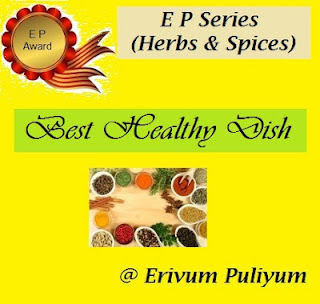 Healthy Dish Award and Keerai Thogayal