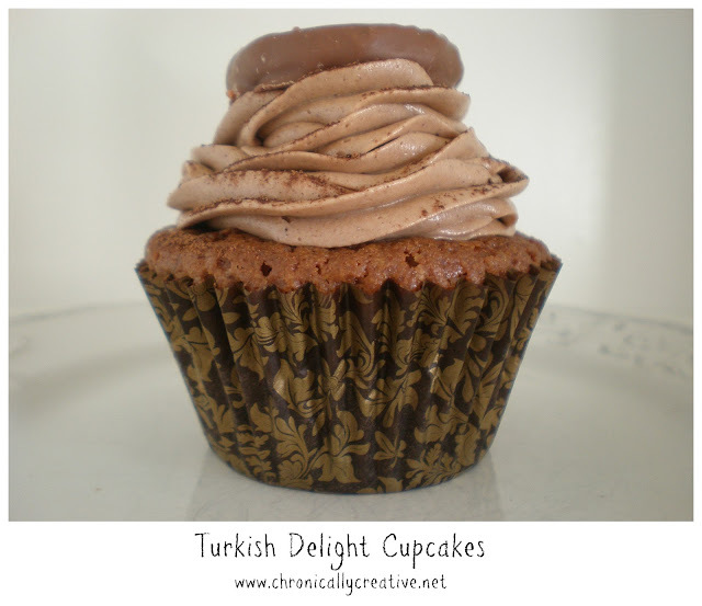Turkish Delight Cupcakes