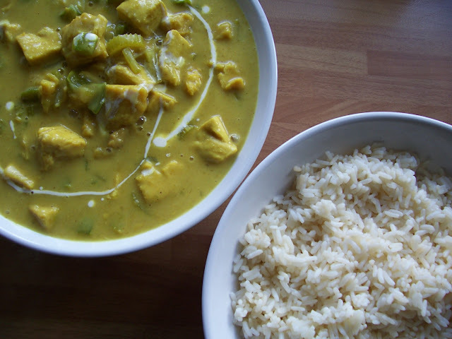 Delia's Creamy Chicken Curry