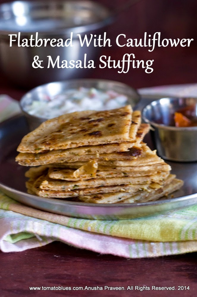 Gobi Paratha Recipe| Stuffed Flatbread Recipes
