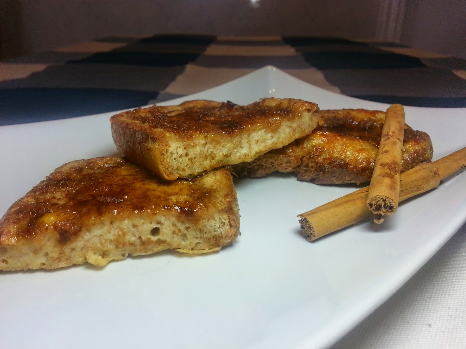 Torrijas light integrales al vapor