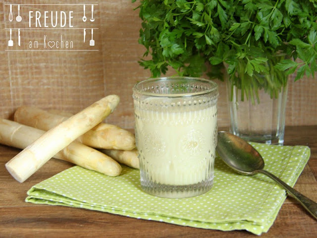 Spargel Creme Suppe #vegan