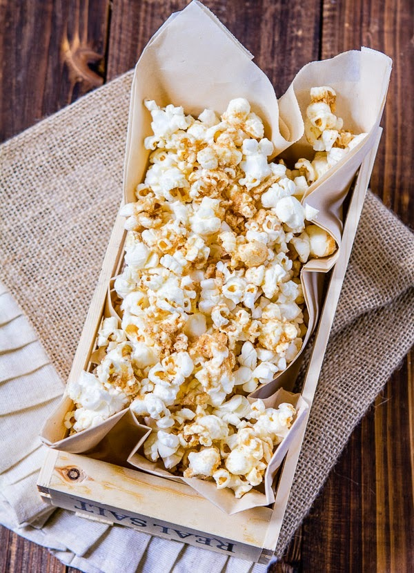 Cinnamon Toast Crunch Popcorn-Guest Post with A Zesty Bite