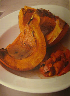 Roast Pumpkin with Spicy Tomato Sauce