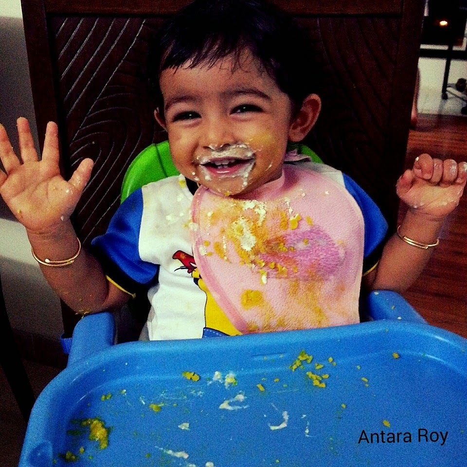 Toddler Steps: An Indian's Guide to Toddler Food