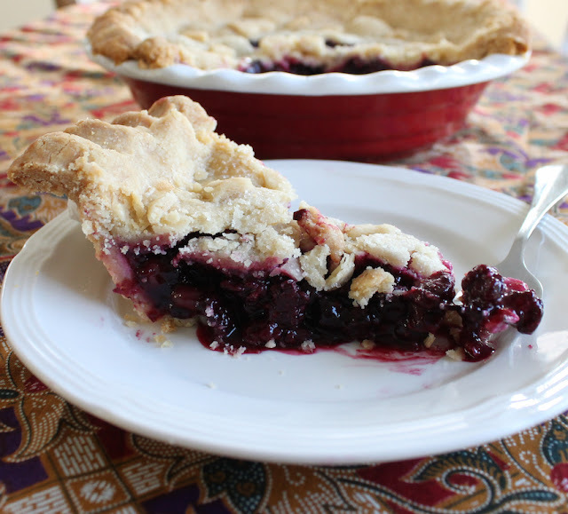 Black Forest Fruit Pie #BloggerCLUE