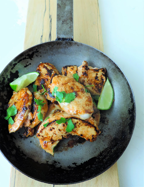 Spicy Coriander and Lime chicken